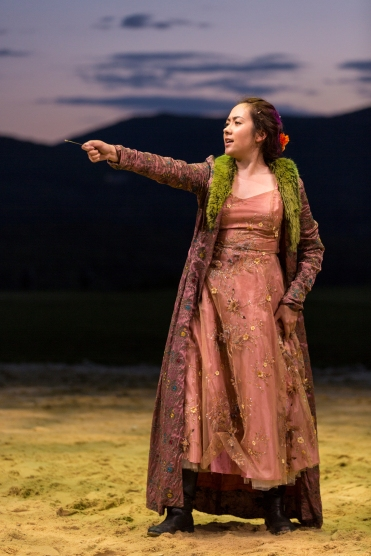 Tora Alexander in Hudson Valley Shakespeare Festival's production of THE HEART OF ROBIN HOOD - Photo by T. Charles Erickson